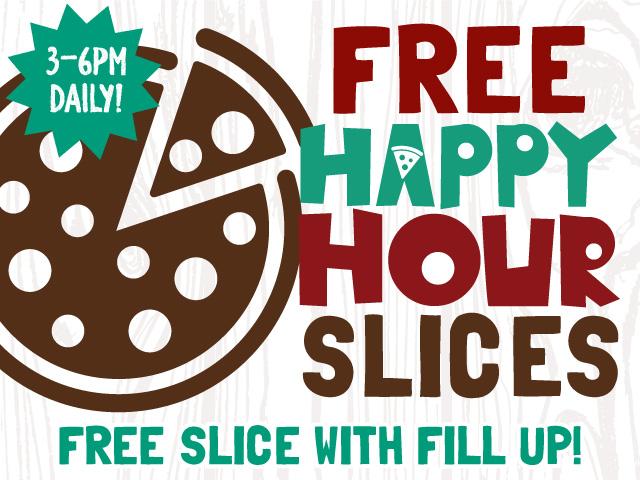 happy hour slices